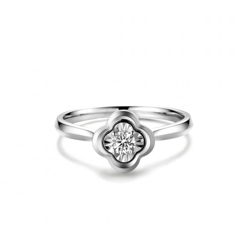Geometric Ring - Clover