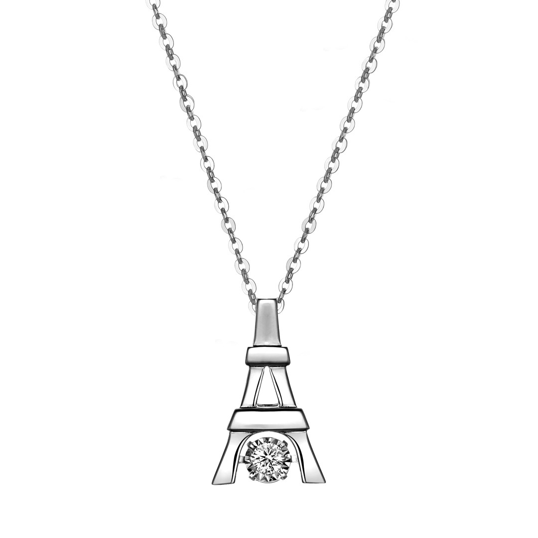 Diamond Pendant Kalung Berlian