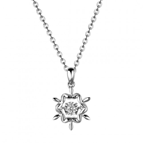 Snowflake (White Gold)
