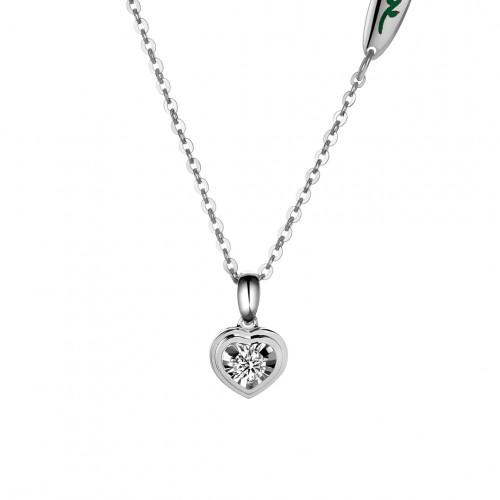 Geometric Heart Diamond