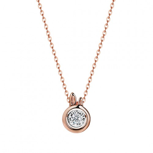 Rabbit - Rose Gold (L)