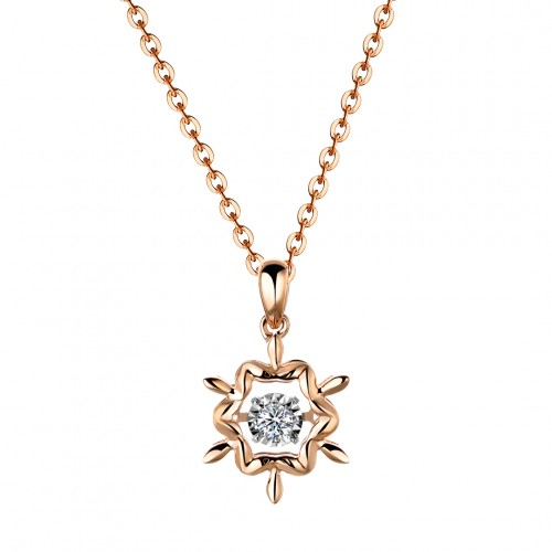 Snowflake (Rose Gold)