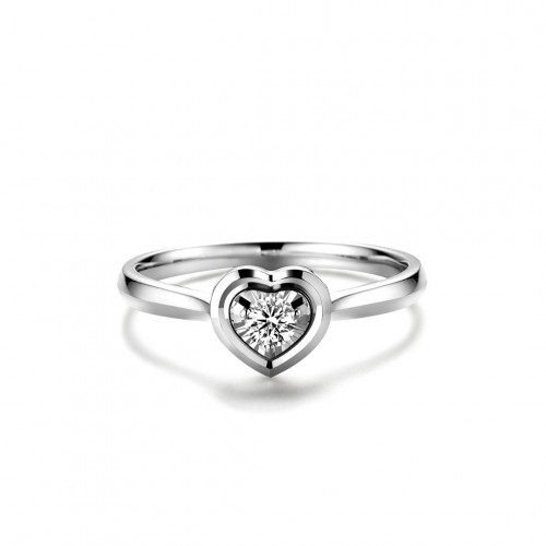 Geometric Ring - Heart